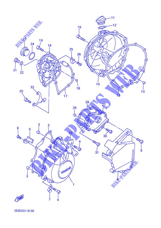 Yamaha R6 Engine Diagram
