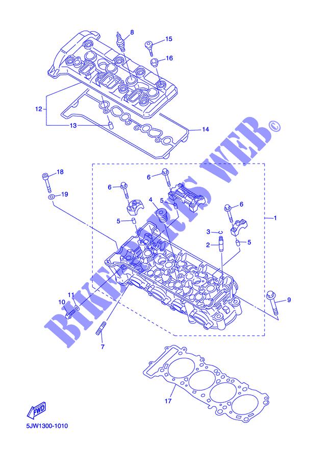 BOLT  WASHER BASED Yamaha 90105-06026-00