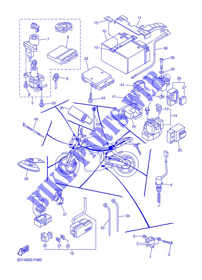 Yamaha Motorcycles Fz1 Wiring Diagram. Yamaha Schematic ... on