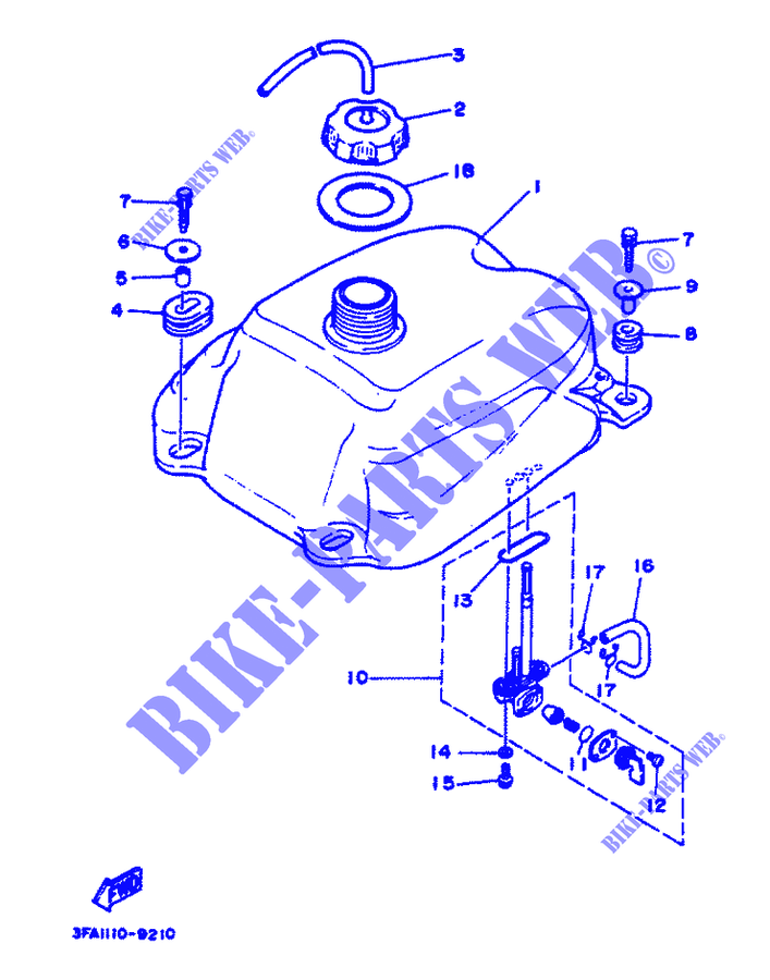 Yamaha Breeze Parts Diagram