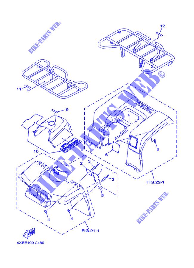 2002 Yamaha Yfm25xp Wiring Diagram. . Wiring Diagram on