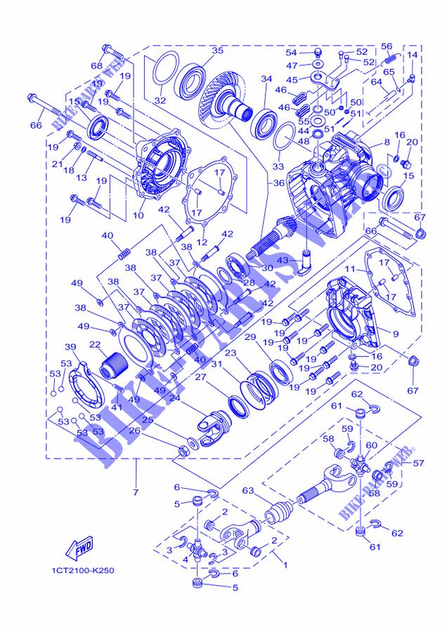 Yamaha 1CT-E511B-10-00 Oil Seal; 1CTE511B1000 Made by Yamaha