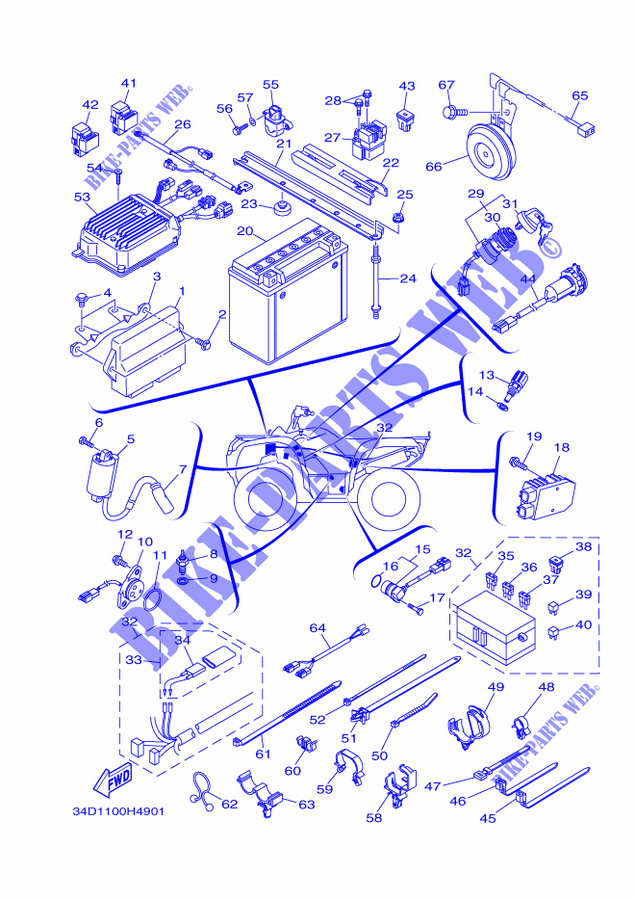 Yamaha Grizzly 550 Wiring Diagram - Wiring Diagrams on
