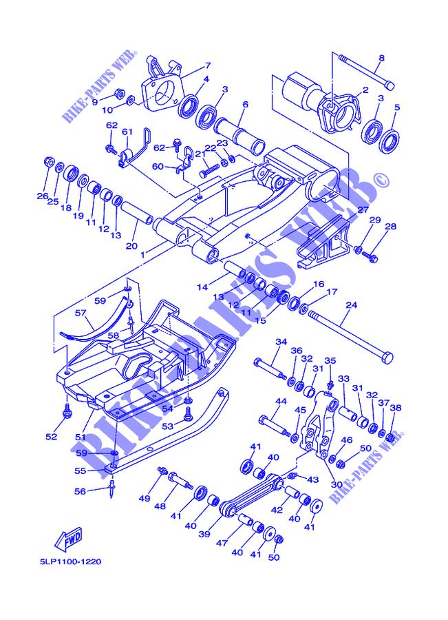 33 Raptor 660 Parts Diagram