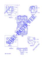 Yamaha 1HPF147F0000 Engine Guard