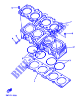 Yamaha 1FN-14107-12-00 NEEDLE VALVE SET; 1FN141071200