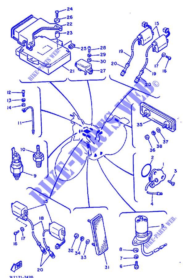 electrical vmx12 vmx12f vmax vmax 1994 1200 moto yamaha motorcycle rh bike parts yam com