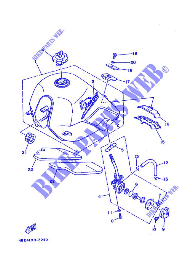 Yamaha Xt225 Parts Diagram