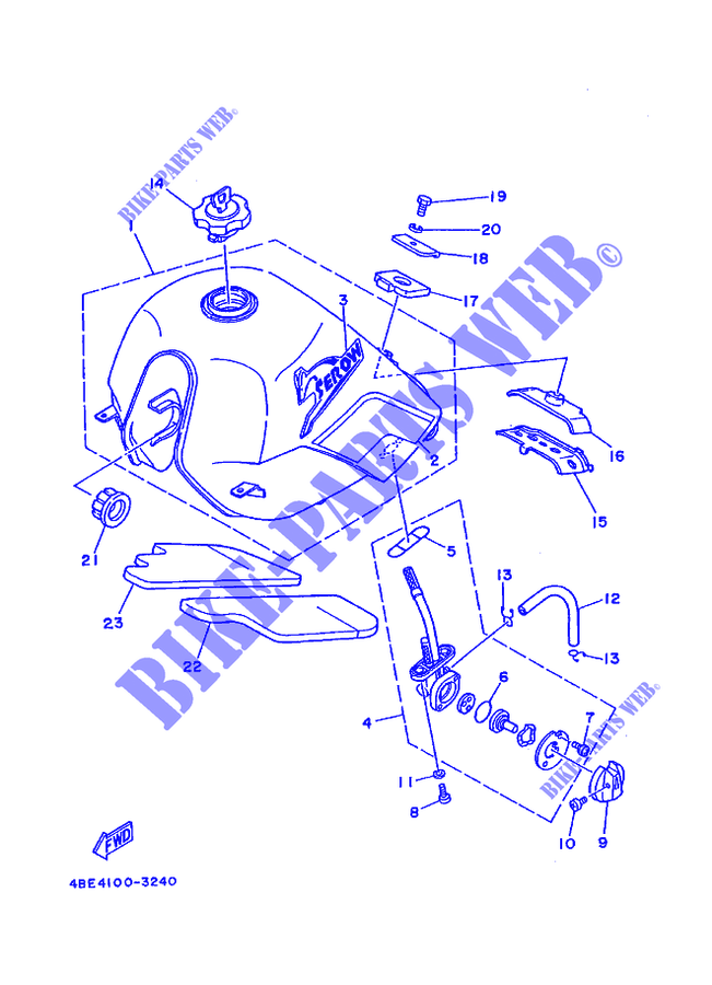 Wiring Diagram Yamaha Xt225 - Today Diagram Database on