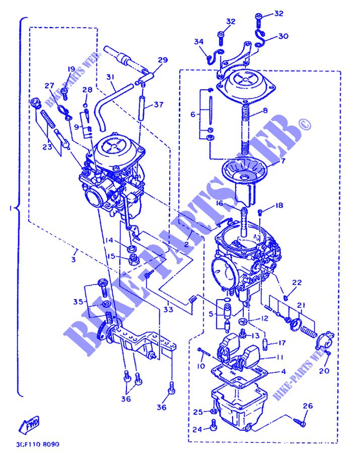 Yamaha Xv1100 Virago Wiring Diagram