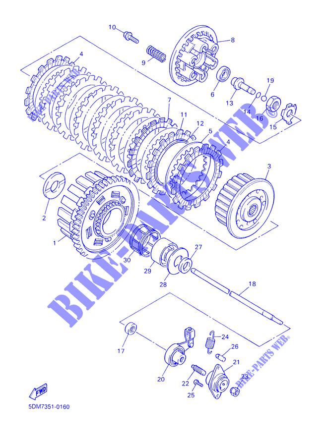 2000 Yamaha Motorcycle Ignition Switch Wiring Diagram