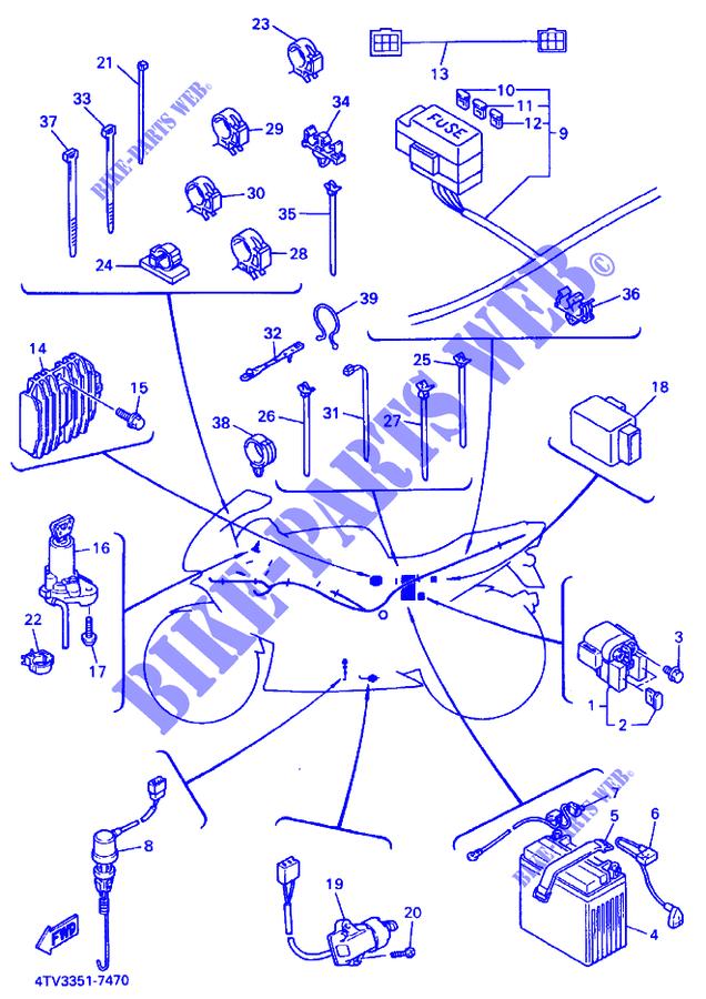 Yamaha Yzf600 Wiring Diagram