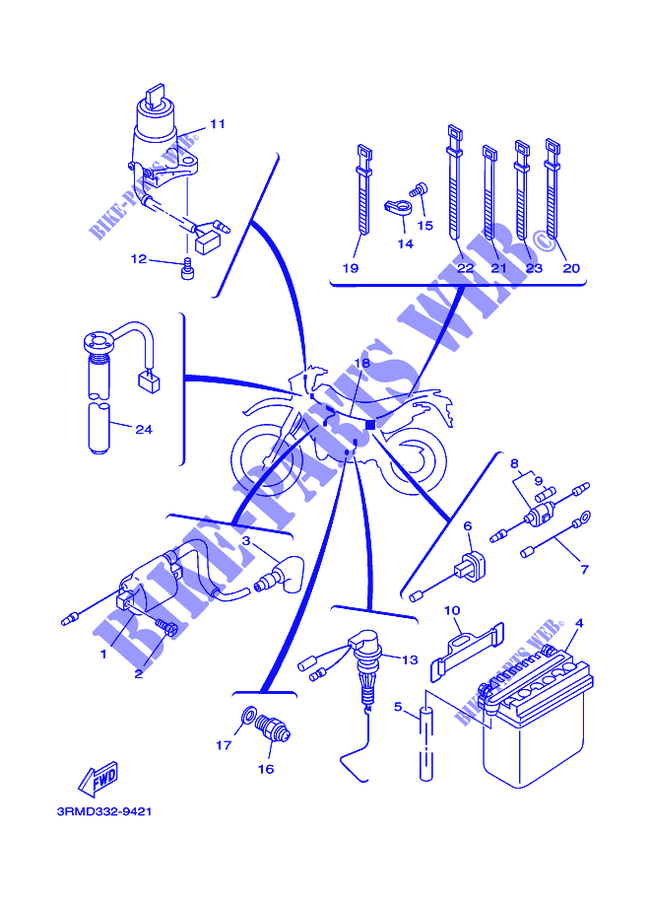 wiring diagram for yamaha dt125r - Wiring Diagram