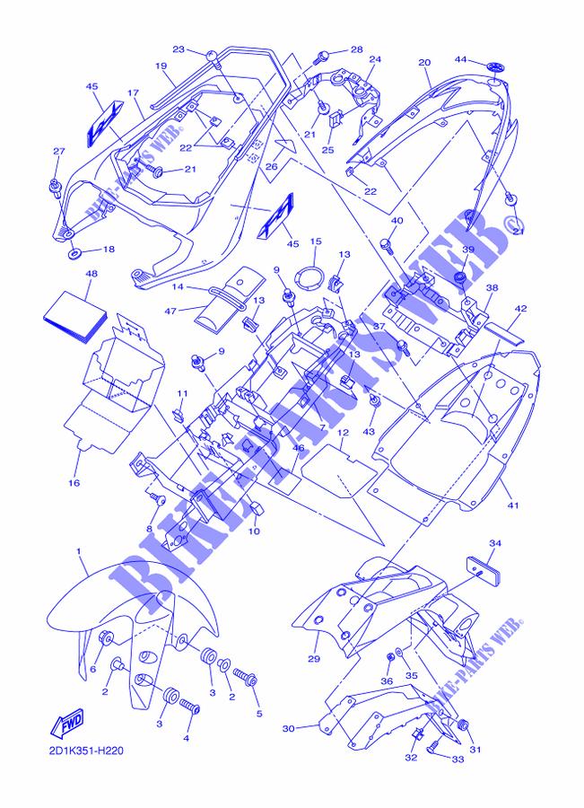 SUZUKI GSX//F 650 S//20082011 Athena P400510870063 Complete Gaskets Kit 1 Pack