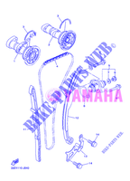 CAMSHAFT / TIMING CHAIN for Yamaha YZ450F 2012
