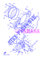 COVER   ENGINE 1 for Yamaha YZ450F 2012
