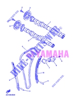 CAMSHAFT / TIMING CHAIN for Yamaha YZF-R6 2012