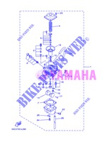 CARBURETOR for Yamaha AG 200 FE 2013