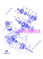 CRANKSHAFT / PISTON for Yamaha AG 200 FE 2013