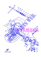 FRONT WHEEL for Yamaha AG 200 FE 2013