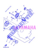 OIL PUMP for Yamaha AG 200 FE 2013