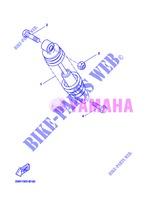 REAR SHOCK ABSORBER for Yamaha BOOSTER SPIRIT 2013