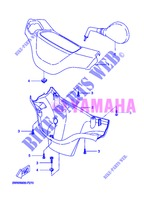 COVER 1 for Yamaha BOOSTER SPIRIT 2013