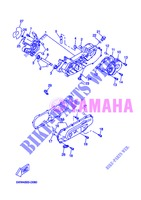 CRANKCASE for Yamaha BOOSTER SPIRIT 2013