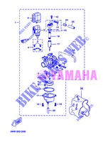 CARBURETOR for Yamaha CW50 2013