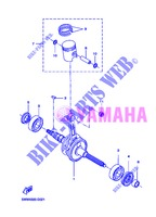 CRANKSHAFT / PISTON for Yamaha CW50 2013