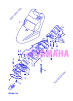 FRONT FENDER for Yamaha CW50 2013