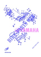 CRANKCASE for Yamaha BOOSTER NAKED 2013