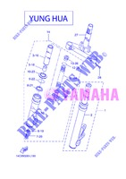 FRONT FORK for Yamaha BOOSTER NAKED 2013