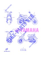 STICKER for Yamaha BOOSTER NAKED 2013