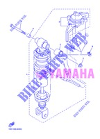 REAR SHOCK ABSORBER for Yamaha FJR1300A 2013