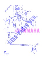 CLUTCH MASTER CYLINDER for Yamaha FJR1300A 2013
