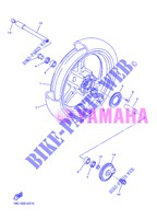 FRONT WHEEL for Yamaha FJR1300A 2013