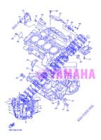 CRANKCASE for Yamaha FJR1300AS 2013