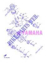 CRANKSHAFT / PISTON for Yamaha FJR1300AS 2013