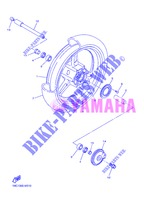 FRONT WHEEL for Yamaha FJR1300AS 2013