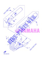 EXHAUST for Yamaha FJR1300AS 2013