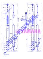 FRONT FORK for Yamaha FZ8N 2013