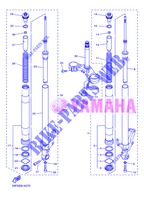 FRONT FORK for Yamaha FZ8NA 2013