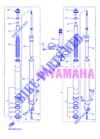 FRONT FORK for Yamaha FZ8S 2013