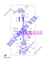 CARBURETOR for Yamaha PW50 2013