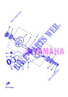 CRANKSHAFT / PISTON for Yamaha PW50 2013