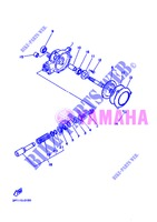 FINAL DRIVE SHAFT / GEAR COUPLING for Yamaha PW50 2013