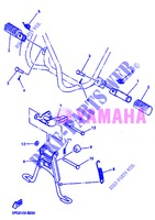 STAND / FOOTREST for Yamaha PW50 2013