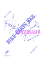 CAMSHAFT / TIMING CHAIN for Yamaha VP250 2013