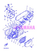 COVER   ENGINE 1 for Yamaha VP250 2013